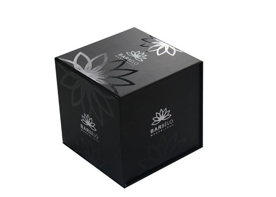 China Button Closure Cosmetic Paper Box , Skin Care Box Packaging CMYK Color supplier