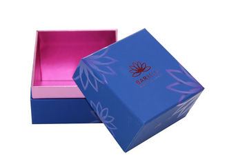 China Embossing Women Cosmetic Gift Box ,  High End Makeup Sample Box Eco Friendly supplier