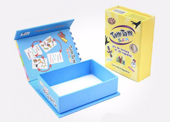 China Pretty Cardboard Shirt Boxes , Magnetic Flip Top Box With Flocking Plastic Blister supplier