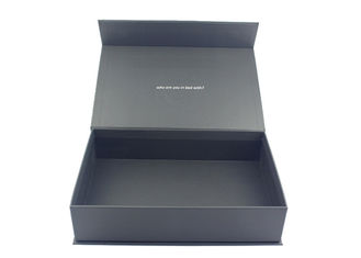 China Foodstuffs Packaging Decorative Rigid Gift Boxes For Chocolates Matt Laminated supplier