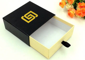Recycled Paper Gift Boxes , CMYK / Pantone Color Sliding Drawer Gift Boxes