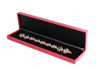 China Necklace Packaging Long Gift Boxes , Cute Eco Friendly Flat Pack Gift Boxes supplier