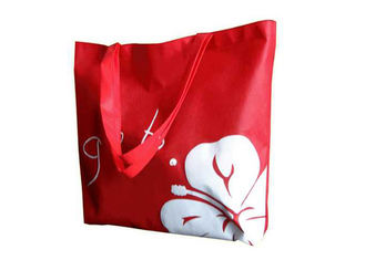 China Promotional Bottom Guested Non Woven Bags Double Side Laminated For Fair supplier