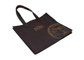 China Promotional non woven grocery bags with Logo , 80GSM non woven carry bags supplier