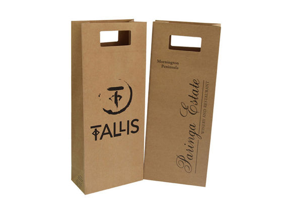 China Handmade Christmas Paper Shopping Bags For Gift Packaging Recyclable supplier