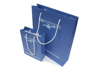 China Color Printed Collapsible Paper Shopping Bags Packaging Gift Bags For Business supplier