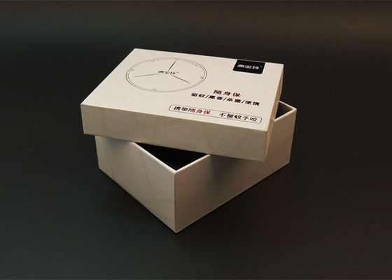 Lid Bottom Headset Cardboard Paper Box Customized Printing With Inner Tray