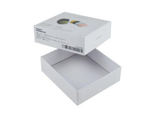 Cosmetic Lid And Bottom Paper Printed Packaging Box Full Color Eco - Friendly