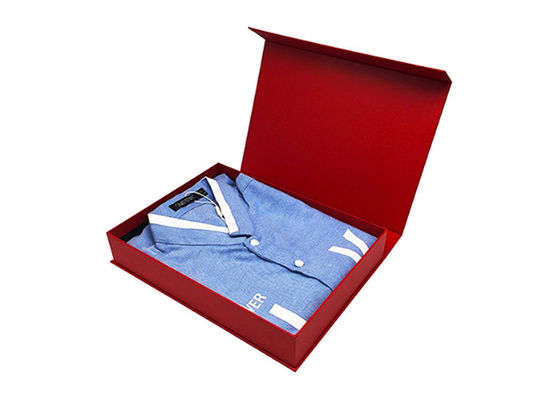 Printing Logo Gift Packing Box , Custom Pattern Shirt Gift Boxes With Lids