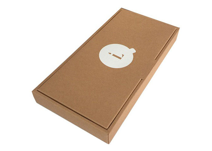 Durable High End Kraft Packaging Boxes Large Kraft Gift Boxes With