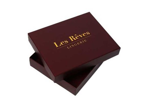 Shallow Holiday Gift Boxes , Large Decorative Christmas Gift Boxes With Lids