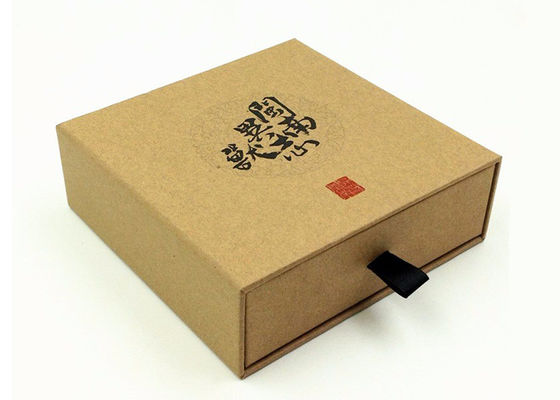 Colorful Offset Printing Cardboard Drawer Box For Tea / Coffee Packaging