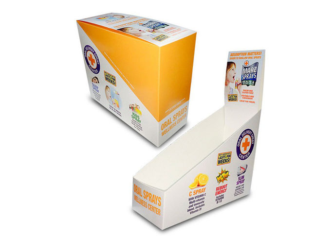 High End Soap / Candle Display Boxes , Store Shelf Cardboard Display Cases